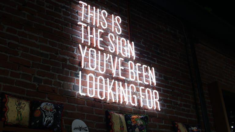 Le signe que vous attendiez pour lancer votre projet de blogging