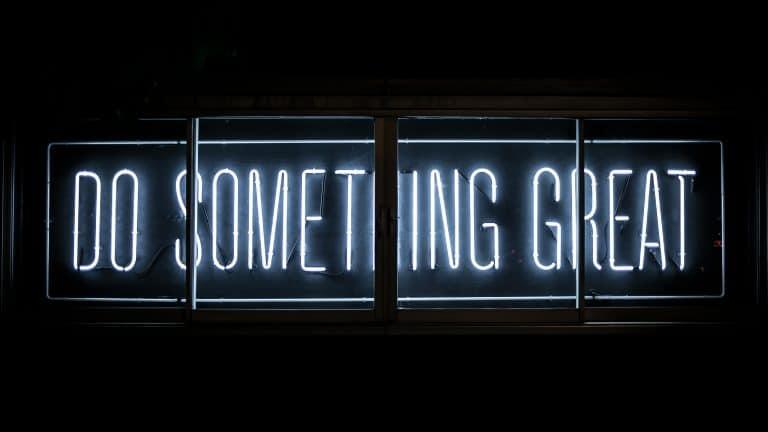 Do something great, faites quelque chose de positif, lancer vous dans le marketing automation