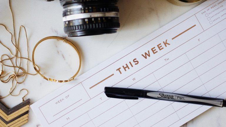 point d'étape après une semaine de blogging intensif